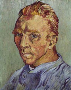 Vincent van Gogh, zelfportret zonder baard